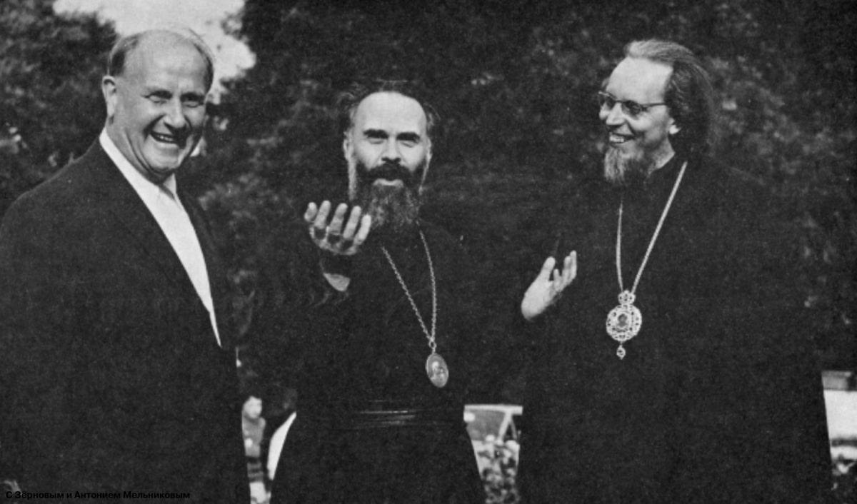 1969 With the Zernov and BishopMelnikov