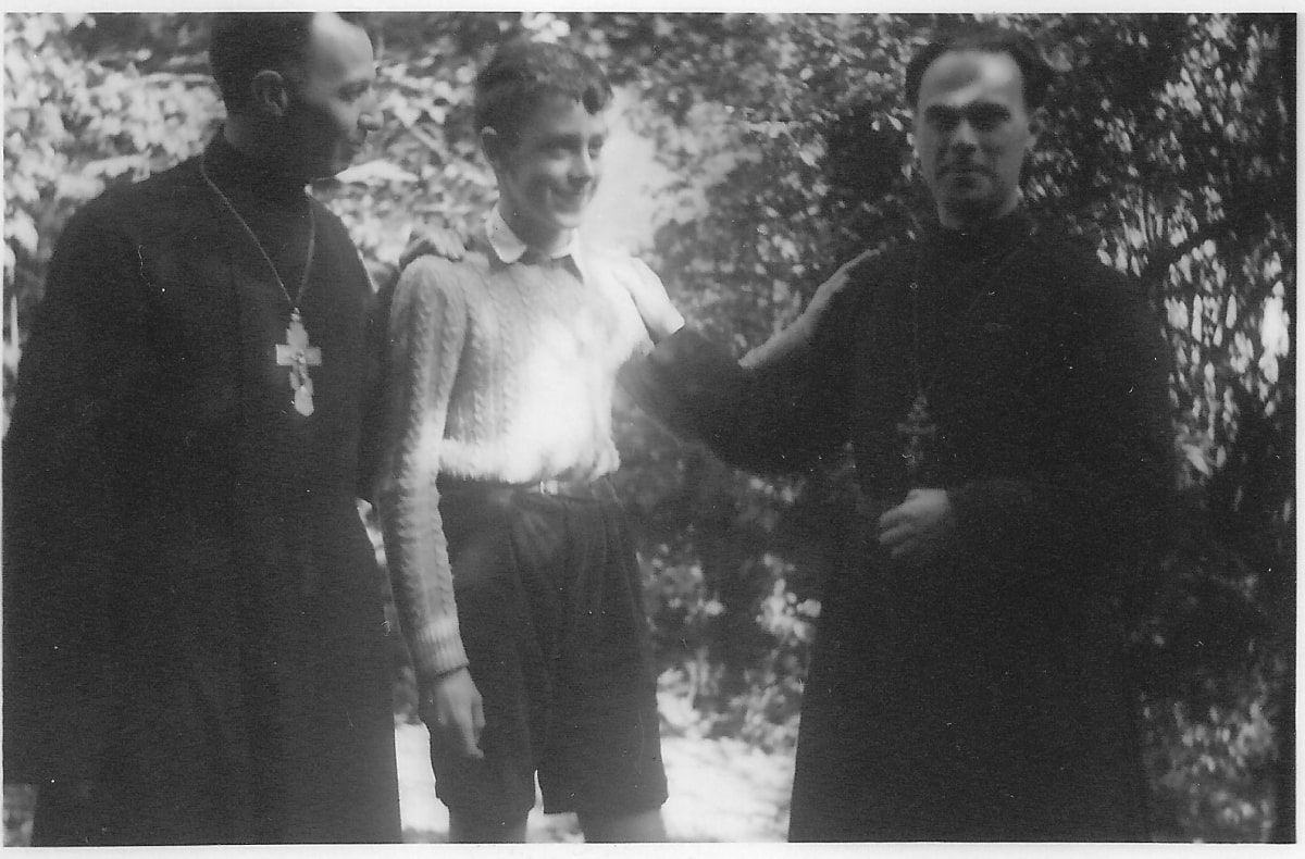 1953 Young Priest